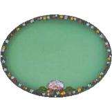 Flower Ring On Mint Green