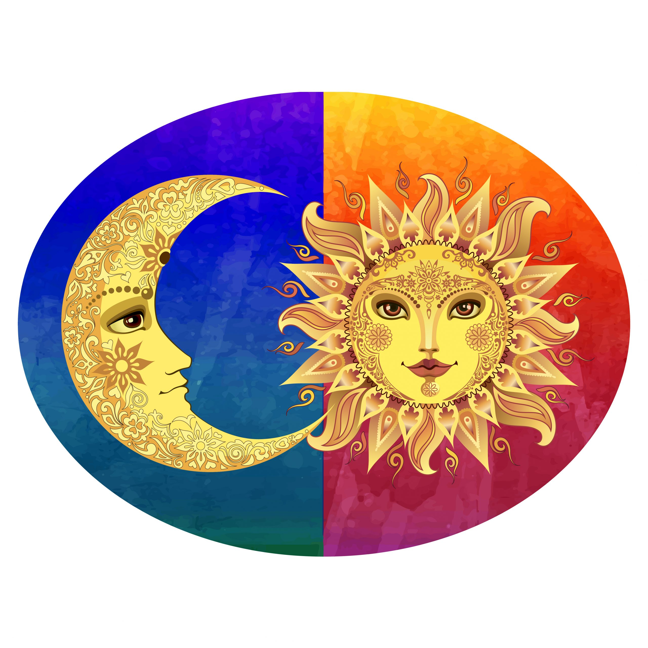 Sun Moon Plaque